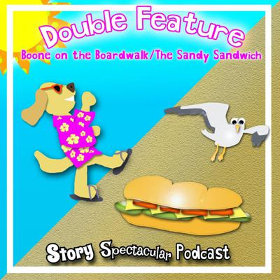 Cover art for Double Feature: Boone on the Boardwalk/ The Sandy Sandwich (Bedtime)