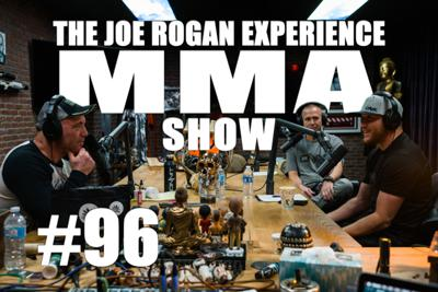 Cover art for JRE MMA Show #96 with Justin Gaethje & Trevor Wittman