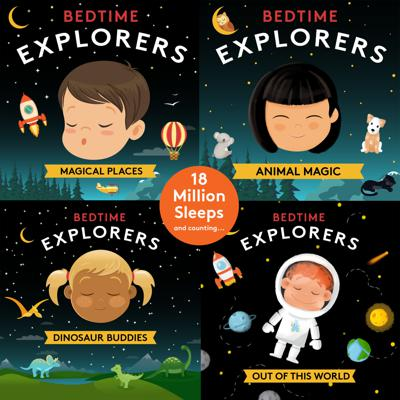 Exciting news! Bedtime Explorers has been nominated for a Webby Award!! It means Bedtime Explorers has been singled out as one of the five best in the world in its category and we need your help to vote it to #1. Voting closes at 11pm 8 May. So hurry, hurry, hurry! Vote here: bit.ly/WebbyVote2020 Now about Bedtime Explorers...Slow down and snuggle down with Kinderling's relaxing meditation series, specially designed to soothe kids to sleep. Join mindfulness coach Amy Taylor-Kabbaz, as she guides kids on wonderful, imaginative journeys to magical places, visiting animals with super powers, and meeting up with some very friendly dinosaurs. Executive Producer: Lorna Clarkson Host:Amy-Taylor Kabbaz Music Season 1 & 2:Gentleforce Editing and Sound Design: Max Gosford If you love this series, please like, subscribe and leave us a nice comment. It really helps! And for more great children's meditations, entertainment and music, visit us at kinderling.com.au. And for more about Amy, visit happymama.com.au.