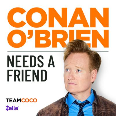 After 25 years at the Late Night desk, Conan realized that the only people at his holiday party are the men and women who work for him.Over the years and despite thousands of interviews, Conan has never made a real and lasting friendship with any of his celebrity guests. So, he started a podcast to do just that.Deeper, unboundedly playful, and free from FCC regulations, Conan O'Brien Needs a Friend is a weekly opportunity for Conan to hang out with the people he enjoys most and perhaps find some real friendship along the way.