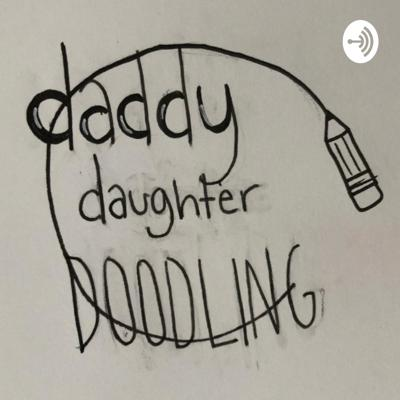 Daddy Daughter Doodling