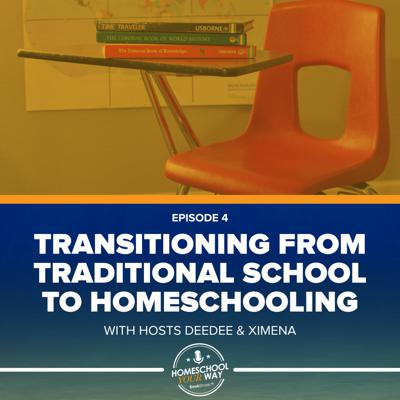 Cover art for TRANSITIONING FROM TRADITIONAL SCHOOL TO HOMESCHOOLING