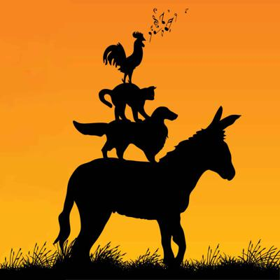 Cover art for The Bremen Town Musicians