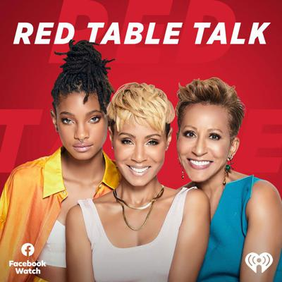 Join Jada Pinkett-Smith, her daughter Willow Smith and mother Adrienne Banfield-Norris as they open their home for a series of groundbreaking and healing conversations. Red Table Talk, a Facebook Watch Original, brings together three generations of women to tackle the most provocative topics of today, from race and sexuality to infidelity and addiction. No topic is off limits.  Take a seat at the table by listening to the Red Table Talk podcast. A production of Facebook Watch and Westbrook Audio