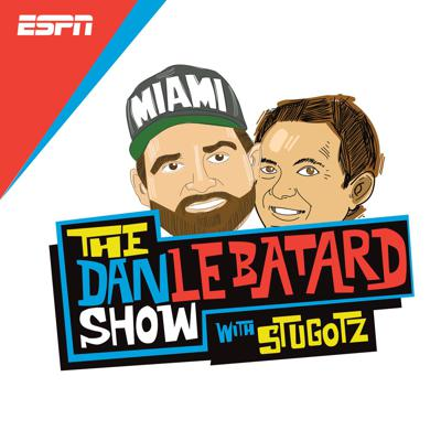 """From their Oceanside studios at the Clevelander Hotel in Miami Beach, Dan Le Batard, Stugotz and company share their unique perspectives on all-things sports, pop-culture and more. This is the place for the hourly podcasts pulled from the radio show, as well as original content produced before and after the show, including the daily """"Local Hour"""" generally focusing on the South Florida scene, the podcast-only hour of the radio show, and a few more surprises along the way."""