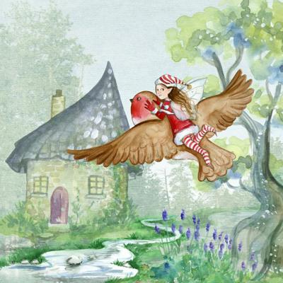 Cover art for Bedtime Story for Kids: MYSTICAL HEALING GARDEN - Guided Meditation for Children