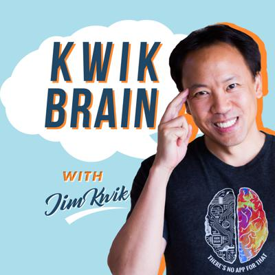 Kwik Brain is a fun, fast-paced show designed to help busy people learn and achieve anything in a fraction of the time! Your coach, Jim Kwik (his real name), is the brain & memory trainer to elite mental performers, including many of the world's leading CEO's and celebrities. In this easy to digest bite-sized podcast, you will discover Kwik's favorite shortcuts to read faster, remember more, and 'supercharge' your greatest wealth-building asset: your brain. Whether you're a student, senior, entrepreneur or educator, you will get the edge with these simple actionable tools to sharpen your mind, enhance your focus, and fast-track your fullest potential. Get show notes, Jim's latest brain-training, and submit your questions in our private community (free) at: www.KwikBrain.com  Jim Kwik is the founder of KwikLearning.com, a widely recognized world leader in speed-reading, memory improvement, brain performance, and accelerated learning with students in over 150 countries.  After a childhood brain injury left him learning-challenged, Kwik created strategies to dramatically enhance his mental performance. He has since dedicated his life to helping others unleash their true genius and brainpower to learn anything faster and live a life of greater power, productivity, and purpose.