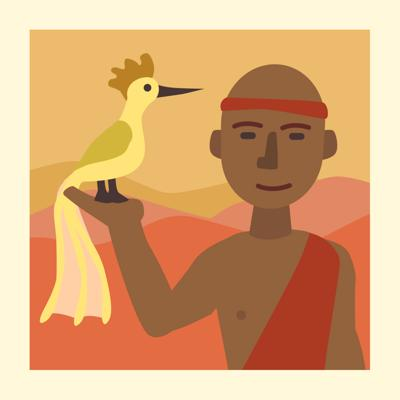 Cover art for Discover Why People Fight with this African Folktale - Storytelling Podcast for Kids - A Blind Man Catches a Bird E:91
