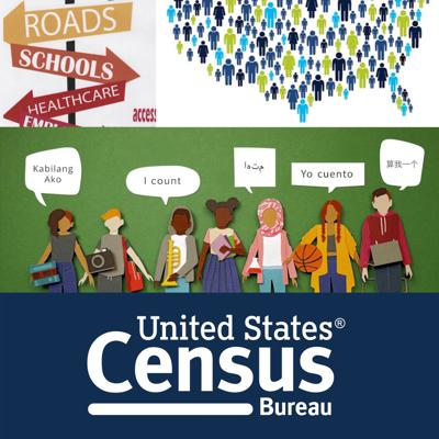 Cover art for The U.S. Census (it's a party, and you're invited!)