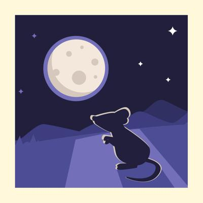Cover art for Lull your Little Ones off to Sleep with these Bedtime Poems - Storytelling Podcast for Kids - The Moon/Silver E:85