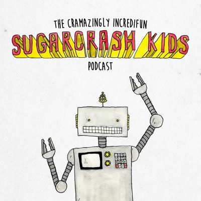 Each episode includes (but is not limited to) engaging storytelling, educational elements (fictional stories with factual information), interviews with fictional characters (pirates, robots, dinosaurs, and the rest of the Sugarcrash Kids), kid interviews (listen to real kids tell their own stories and elaborate on various topics), and a brand new Sugarcrash Kids song each time! The Cramazingly Incredifun Sugarcrash Kids Podcast is geared for children, but grownups will love it too!