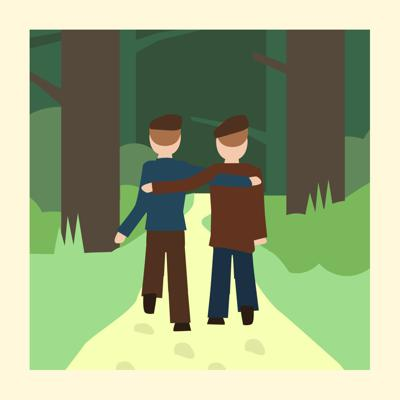 Cover art for Ponder the Meaning of Happiness with this Classic Tolstoy Tale - Storytelling Podcast for Kids- The Two Brothers :Bonus